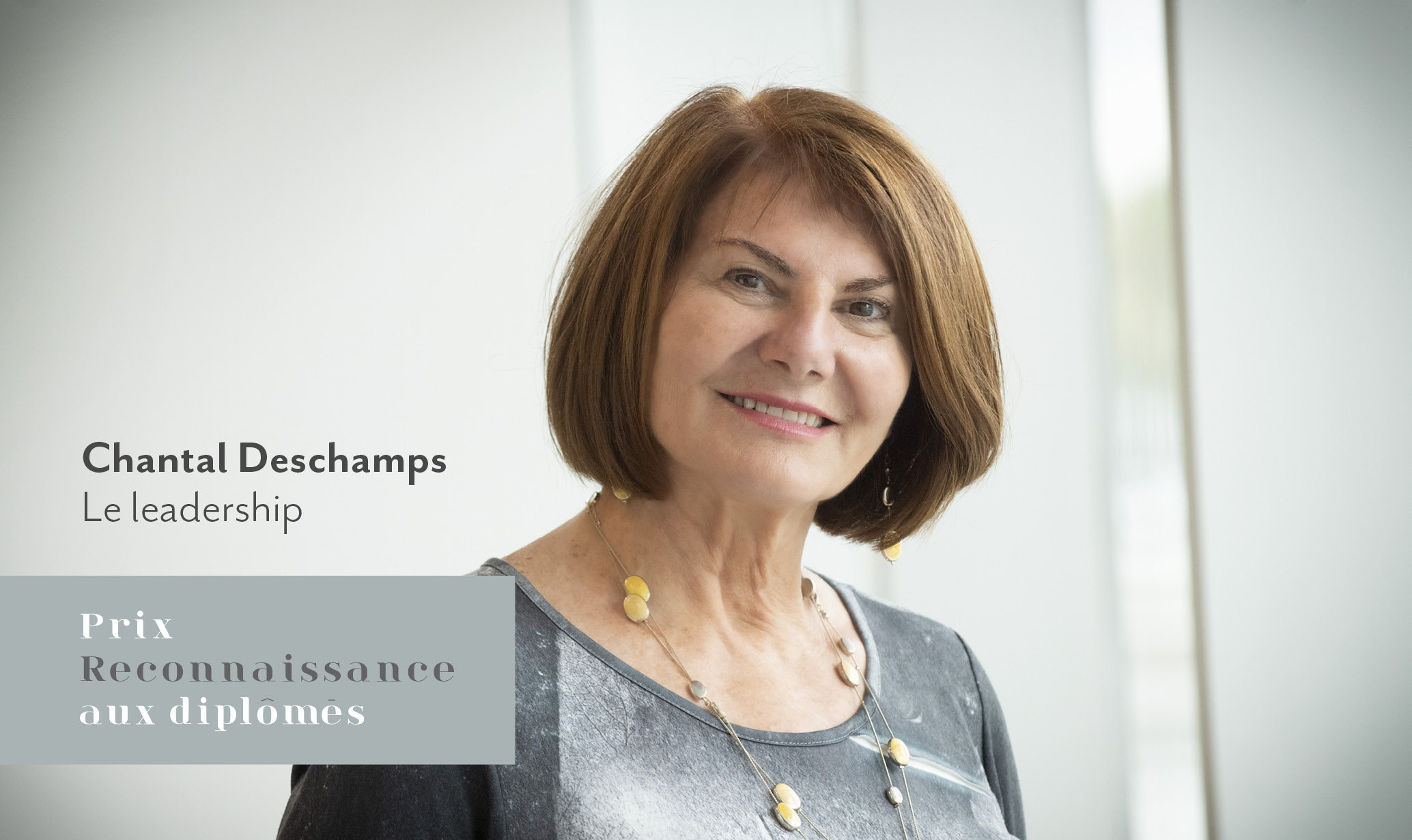 Chantal Deschamps - Le leadership