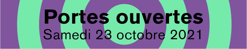 Portes ouvertes - Samedi 23 octobre 2021